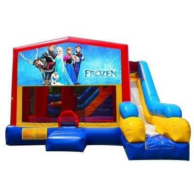7in1 Frozen Bounce House