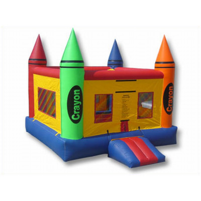 Inflatable Crayon Bouncer