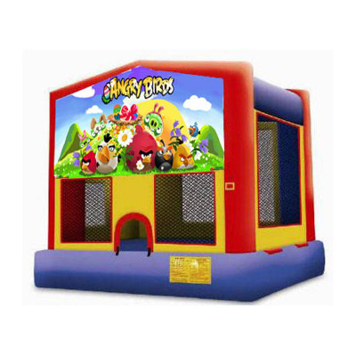 Inflatable Angry Birds Module Bouncer