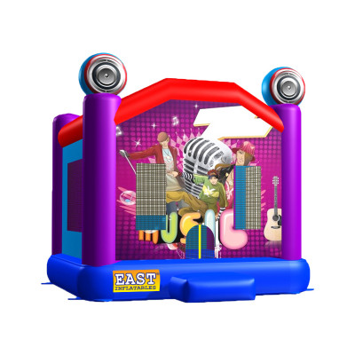 Inflatable Rock Star Bouncer