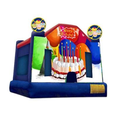 Inflatable Happy Birthday Bouncer
