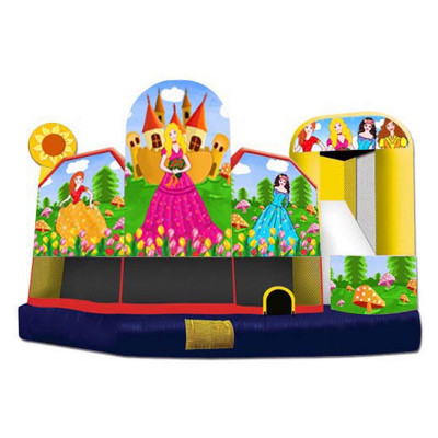 Inflatable Princess 5 in 1 Combo