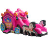 Inflatables Princess Carriage Combo Horses