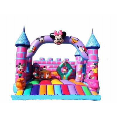 Inflatable Disney Castle