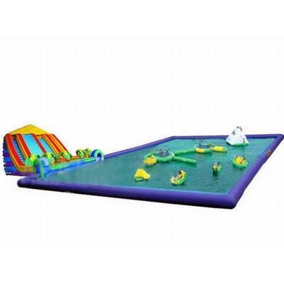 Giant Aqua Inflatable Water Park