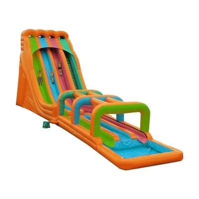Triple Lindy With Surf N Slide