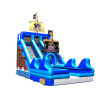 Inflatable Pirate Ships Double Slide