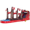Pirate Ship Inflatable Water Slide With Slip