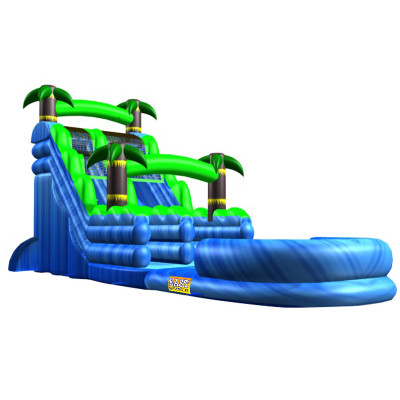 20FT Inflatable Blue Crush Water Slide