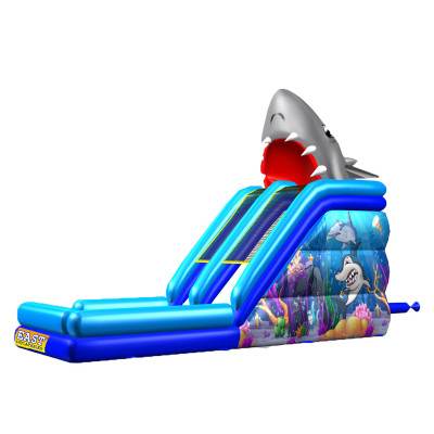Inflatable Finding Shark Slide