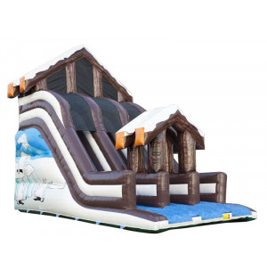 Inflatable Winter Super Slide