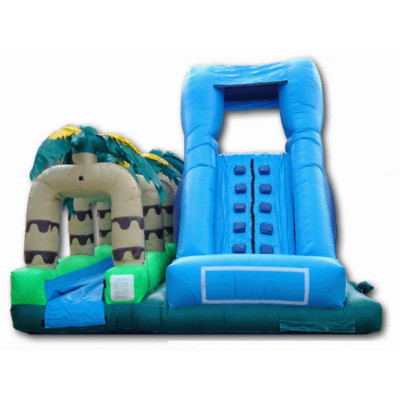 Inflatable Tropical Water Slip Slide