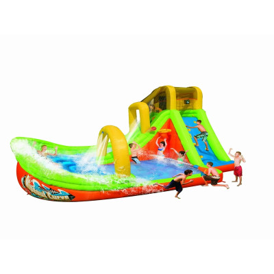Inflatable Curve Slide