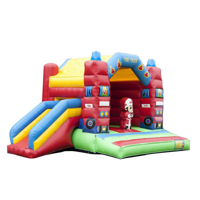 Bouncy Castle Fire Department Multifun