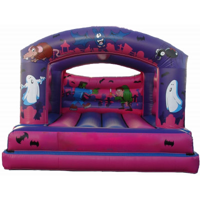 Inflatable Roofed Castle