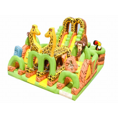 Inflatable Adrenaline Jungle Maze