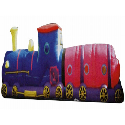 Inflatable Tunnel Train