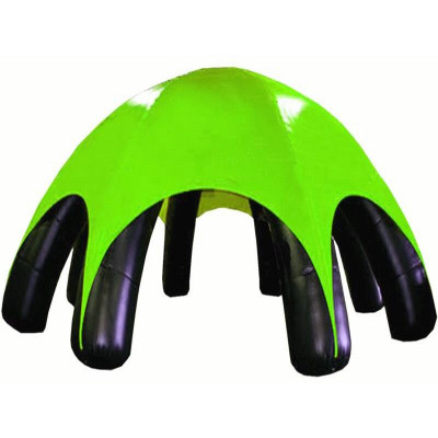Inflatable Green Black Tent