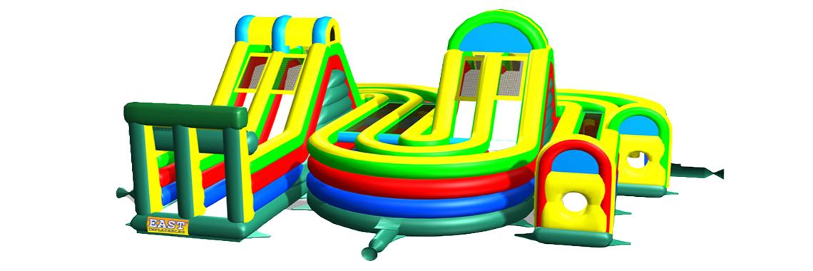 inflatalbe slide