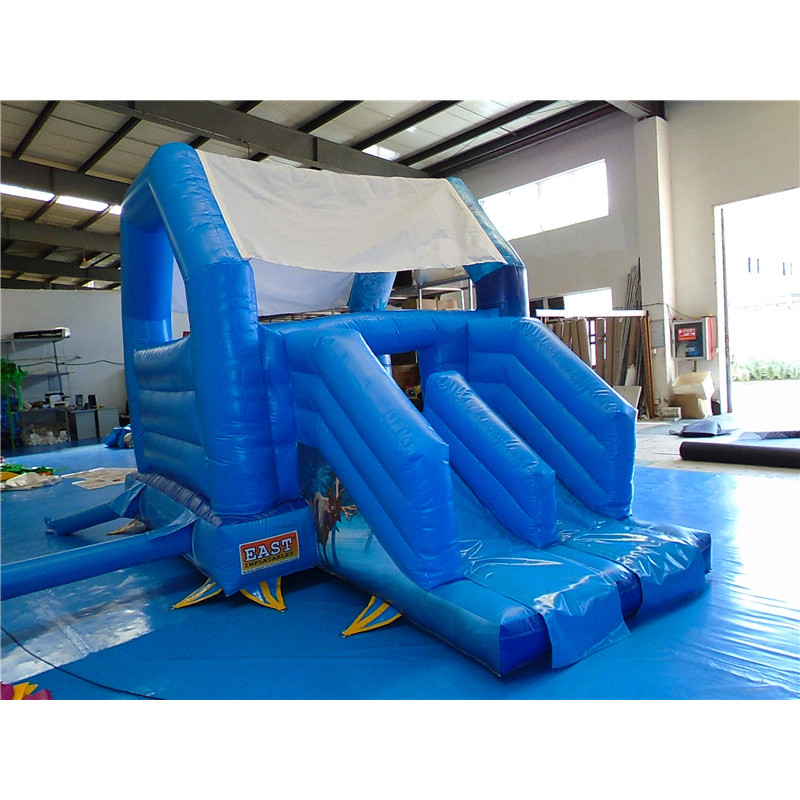 Frozen Themed Activity Bouncy Castle