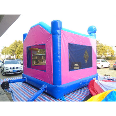 Inflatable Module Bouncer With Banners