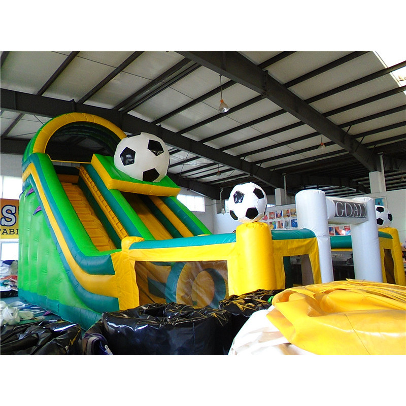Inflatable Mutliplay Football Slide