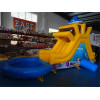 Inflatable Garden Slide Dolphin