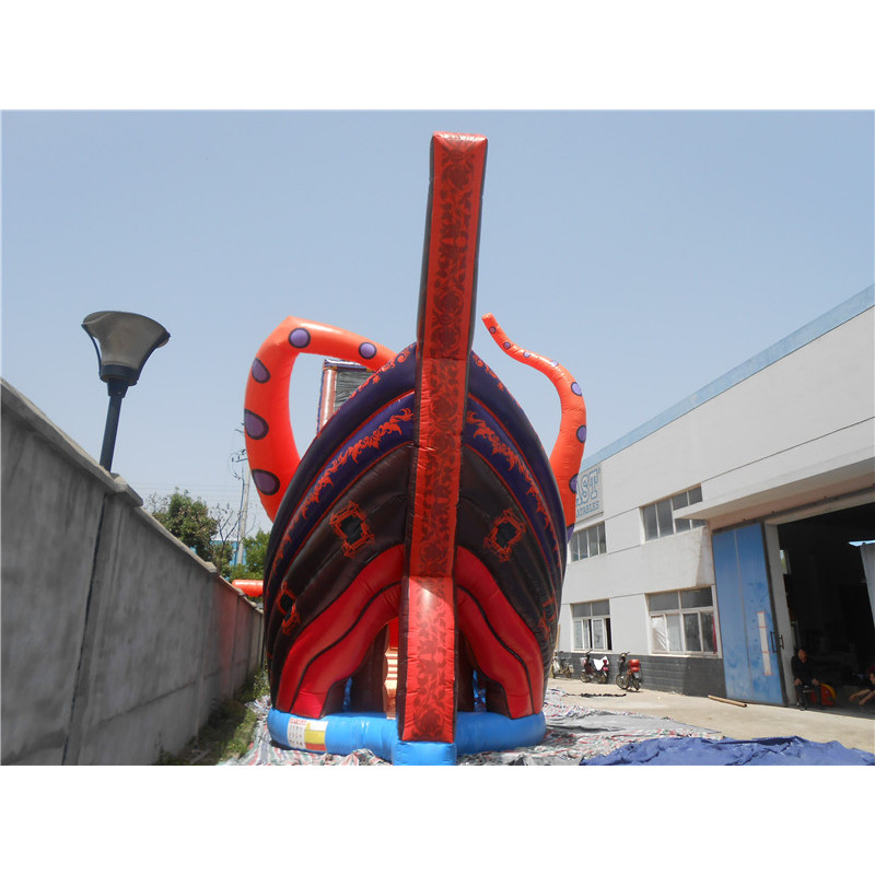 Inflatable Kraken Slide