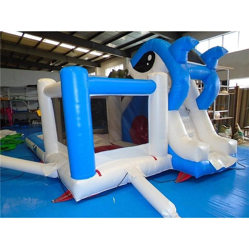 Inflatable Shark Water Slide